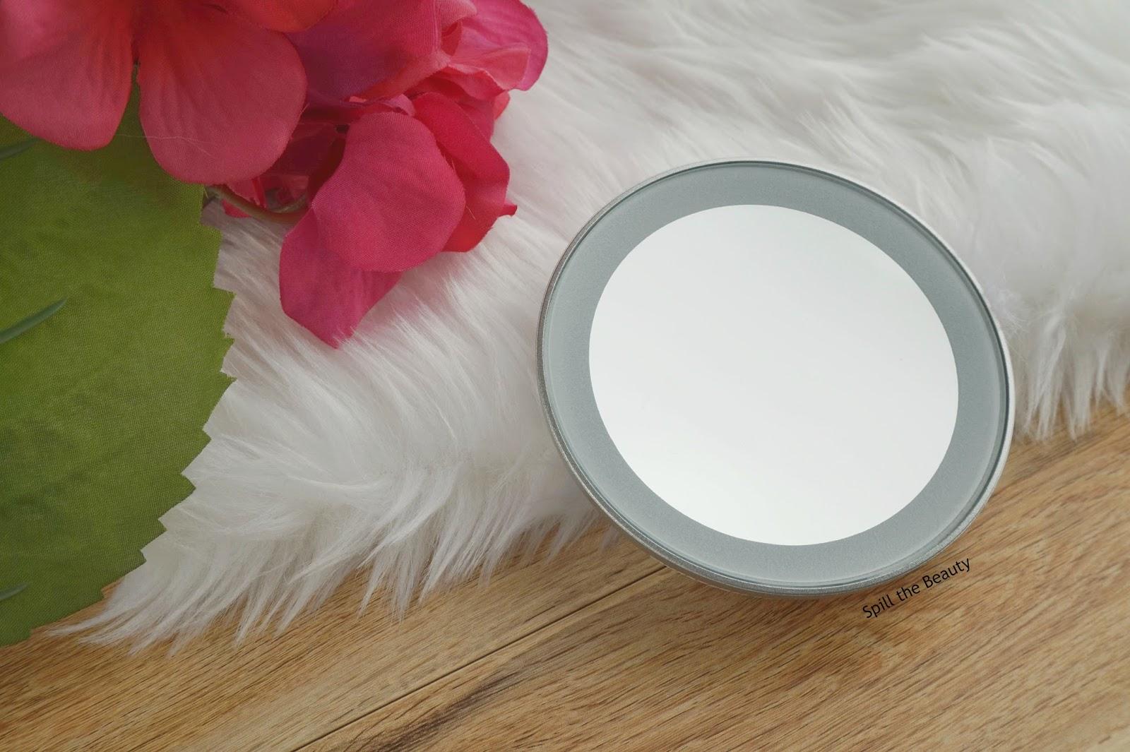 led 15x mini mirror tweezerman