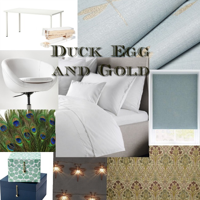bedroom-and-office-makeover-duck-egg-and-gold-mood-board-with-text