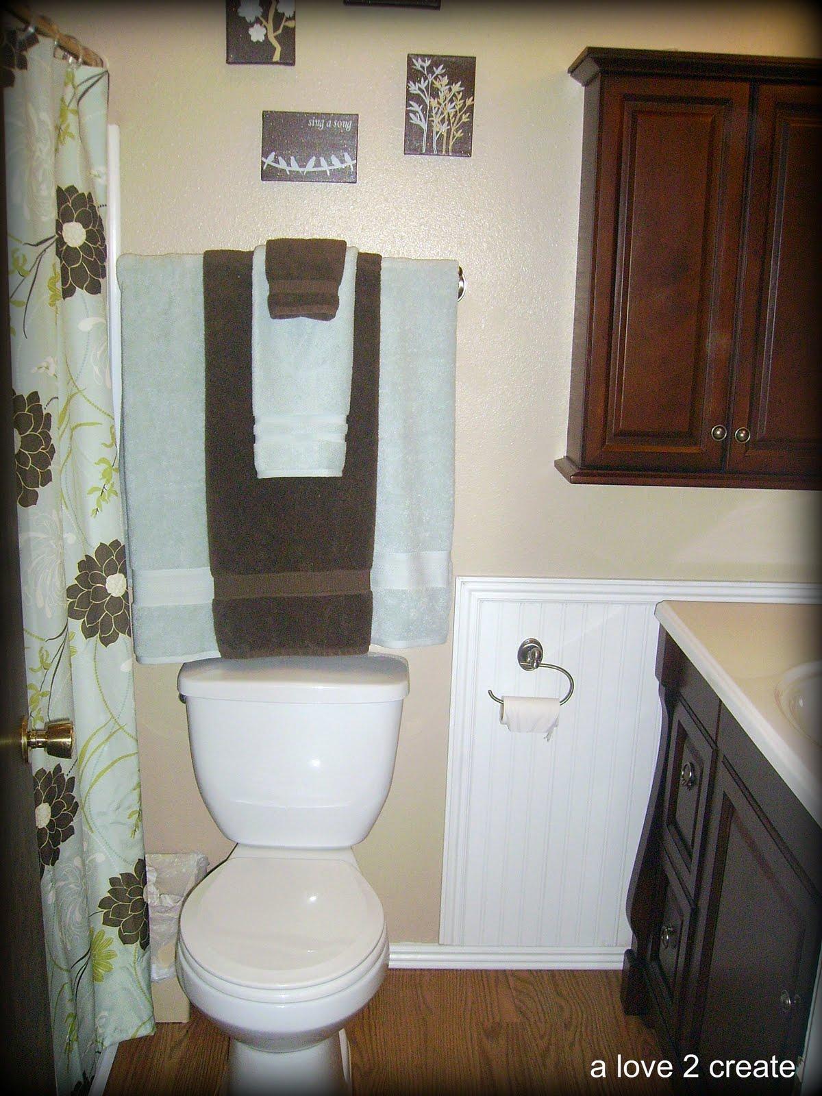 Bathroom Canvas Art: A Love To Create: My Canvas Art...in The Bathroom
