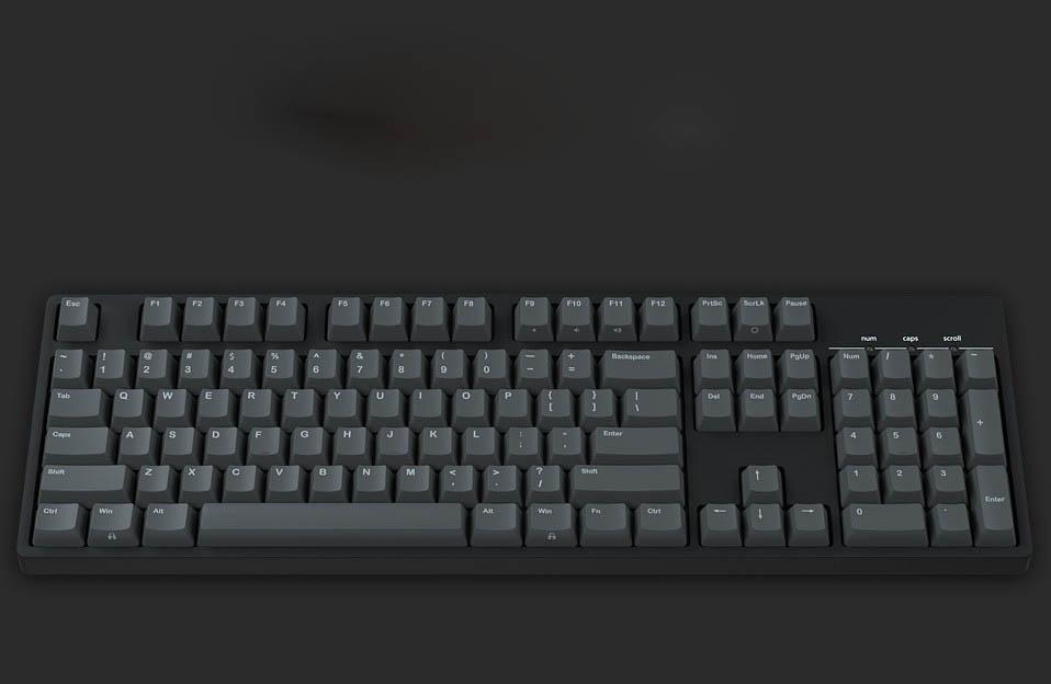 bfdba777863 Altkey: 61/87/104 keys Origin Vortex IKBC PBT keycap Set