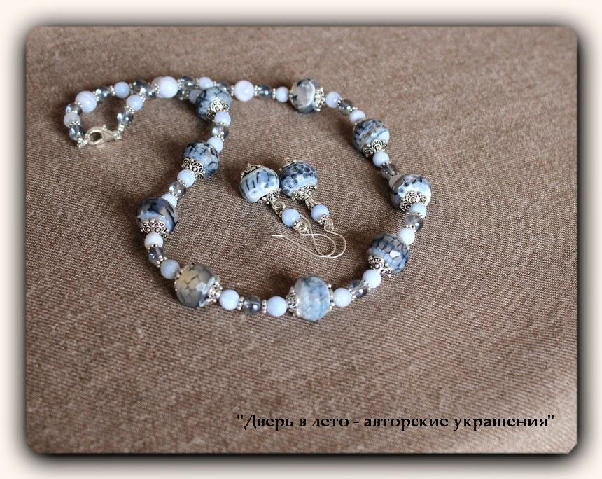 авторские украшения, натуральные камни