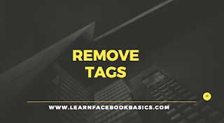 How to remove a tag from a Facebook photo you're tagged in