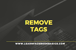 How do I remove a tag from a Facebook photo I am tagged in