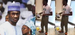Buhari's Son, Yusuf Pictured in NYSC Uniform