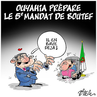 Ouyahia prépare le 5e mandat de Bouteflika
