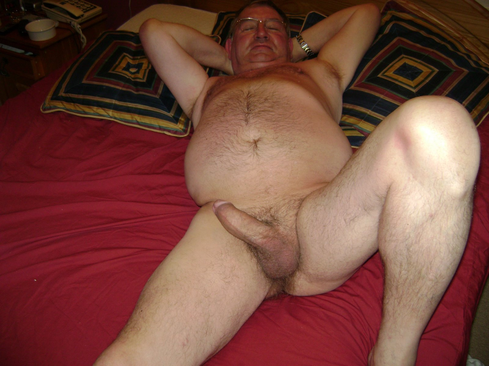 Older dad daddies chubby bald couple hard bare fuck creamed ass rim 9