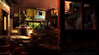 Favela Courtyard
