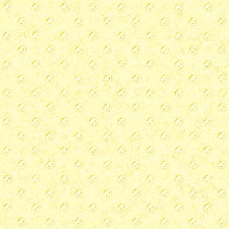 """Gold Buttons"", Pale Yellow BG Pattern 