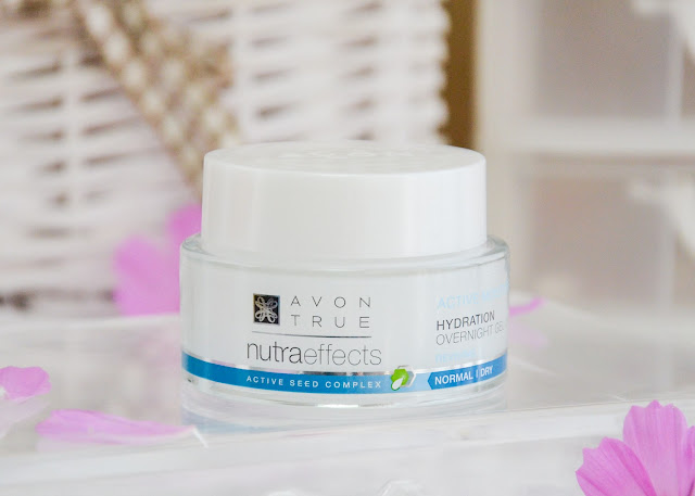 Avon Nutra Effects Active Moisture Hydration Overnight Gel-Cream