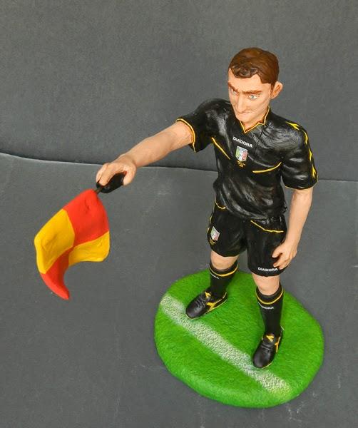 modellino personalizzato statuina appassionato sport idea regalo orme magiche