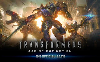 Free download official game Transformers Age of Extinction Android .APK Full + DATA New