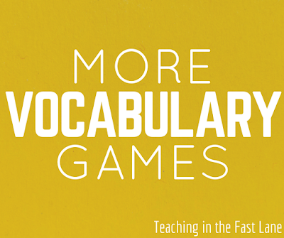 More Vocabulary Games-My students love playing these games with our word wall, and I love that it keeps the words fresh in their memory.