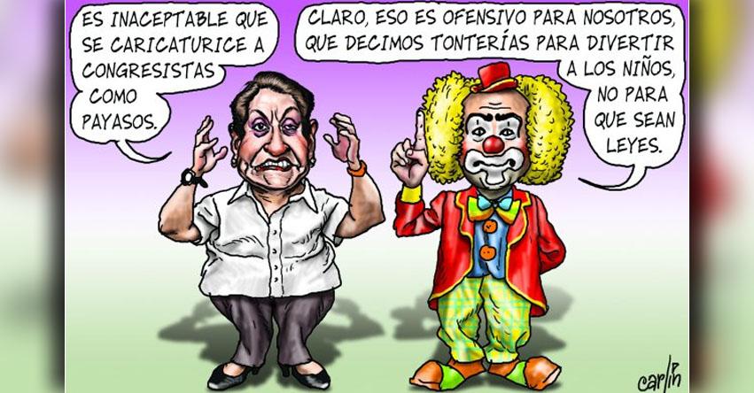 Carlincaturas Jueves 30 Marzo 2017 - La República