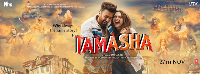 Tamasha Box Office Collection: 200 Crore Club for Sure ( India + Overseas )