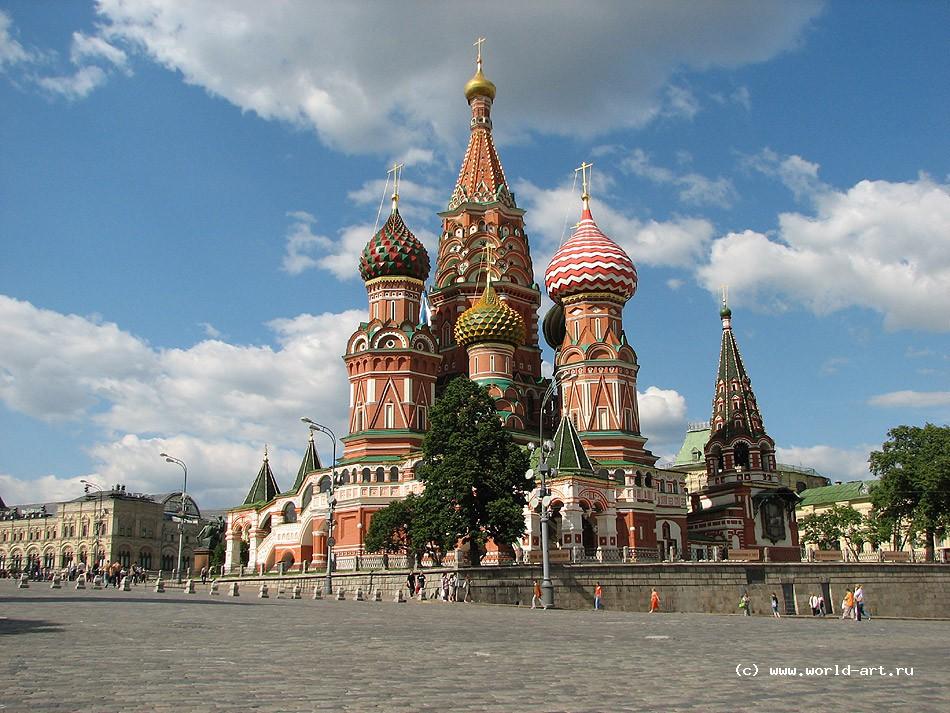 Собор Василия Блаженного | World of Art