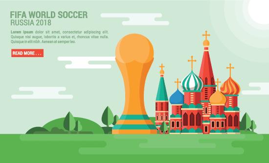Fondo del mundial de futbol Rusia 2018 free