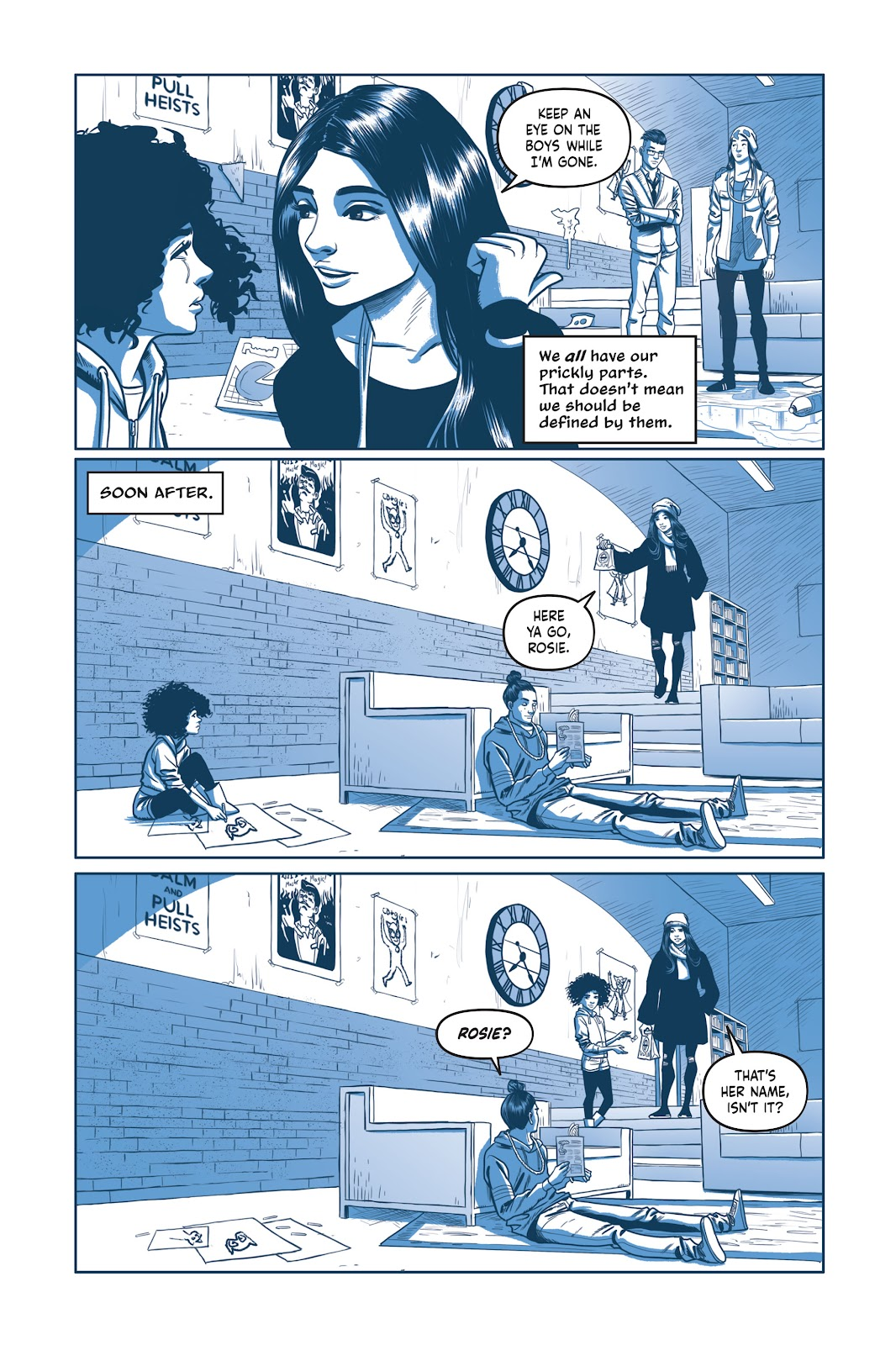 Read online Under the Moon: A Catwoman Tale comic -  Issue # TPB (Part 2) - 21