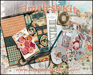 Scraps of Elegance Timeless Main Kit September SOE