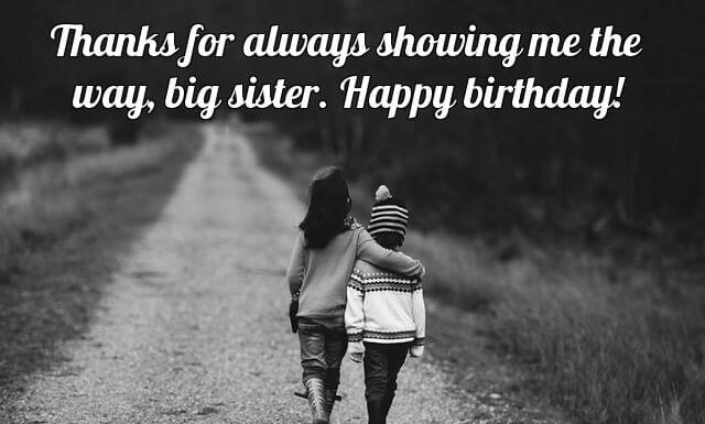 Happy Birthday Wishes For Sister From Brother Childhood Image