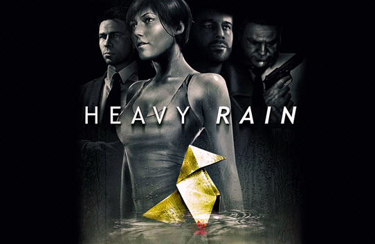 Cover picture of the game Heavy Rain, games like Heavy Rain