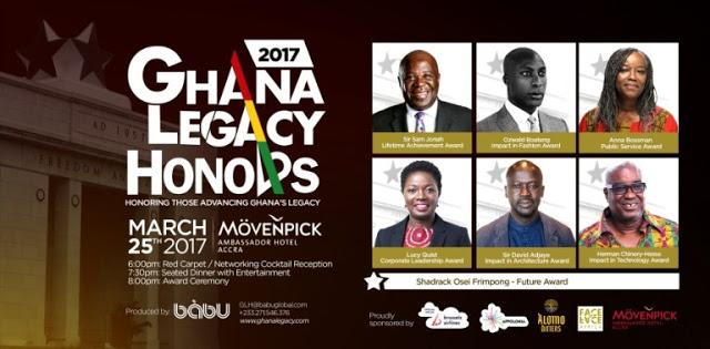 Sam Jonah, Ozwald Boateng, David Adjaye & More To Be Honored At Ghana Legacy Honors