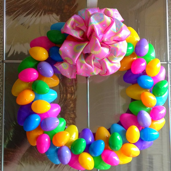Oh, for the love of.... Pinterest! : Easy Easter Wreath