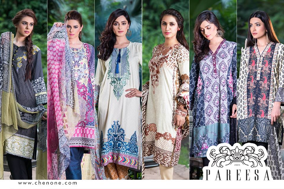 e1f67f778 ... cultural designing in clothing range, which is decorated with dazzling  embroidery and lace work, This collection of Chen One by Pareesa great for  casual ...