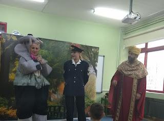 Δωρεάν παιδική θεατρική παράσταση για τους μαθητές νηπιαγωγείου