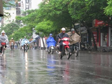 Dự báo thời tiết 20/11/2015: Cảnh báo mưa dông khu vực nội thành Hà Nội