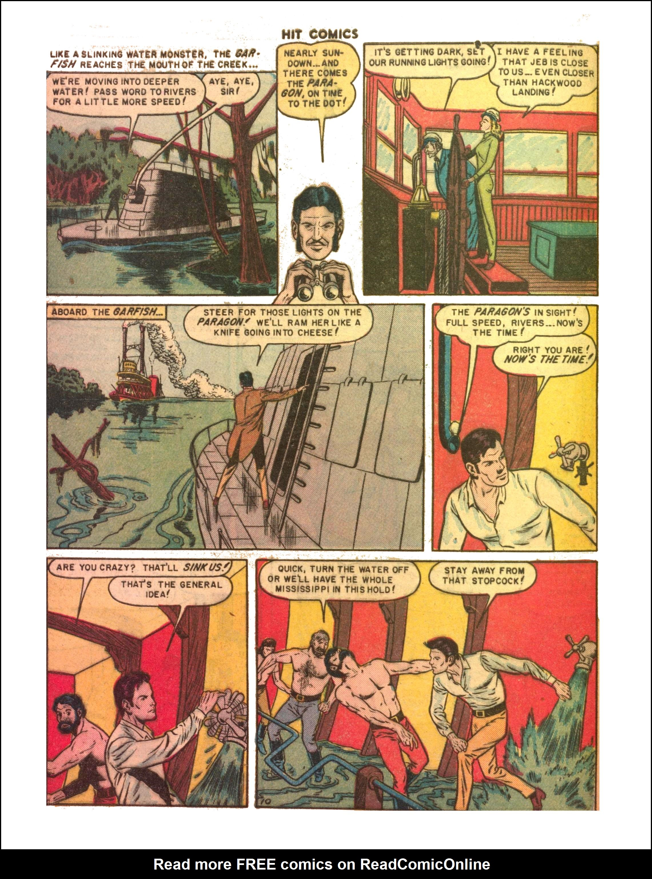 Read online Hit Comics comic -  Issue #65 - 12