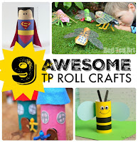 Things to make with empty toilet rolls