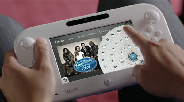 Nintendo TVii UI user interface American Idol wheel