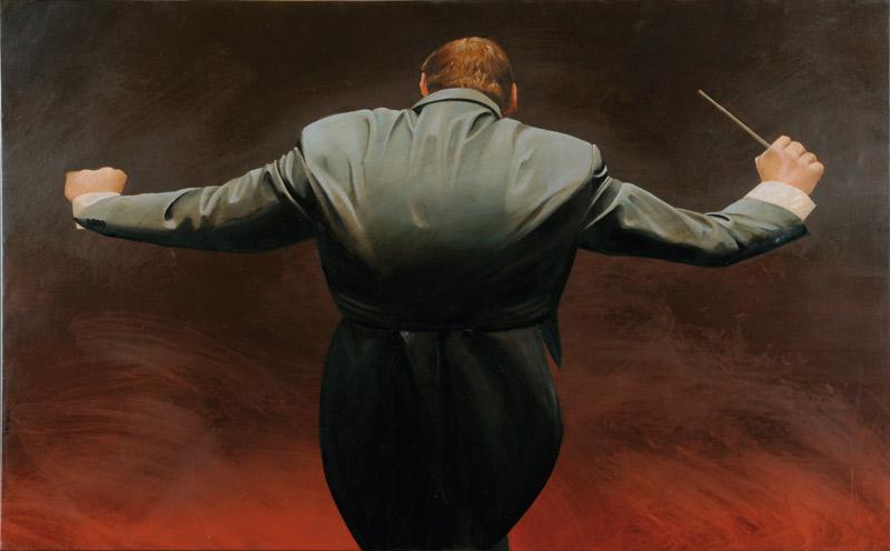 Resultado de imagen para director de orquesta pintura