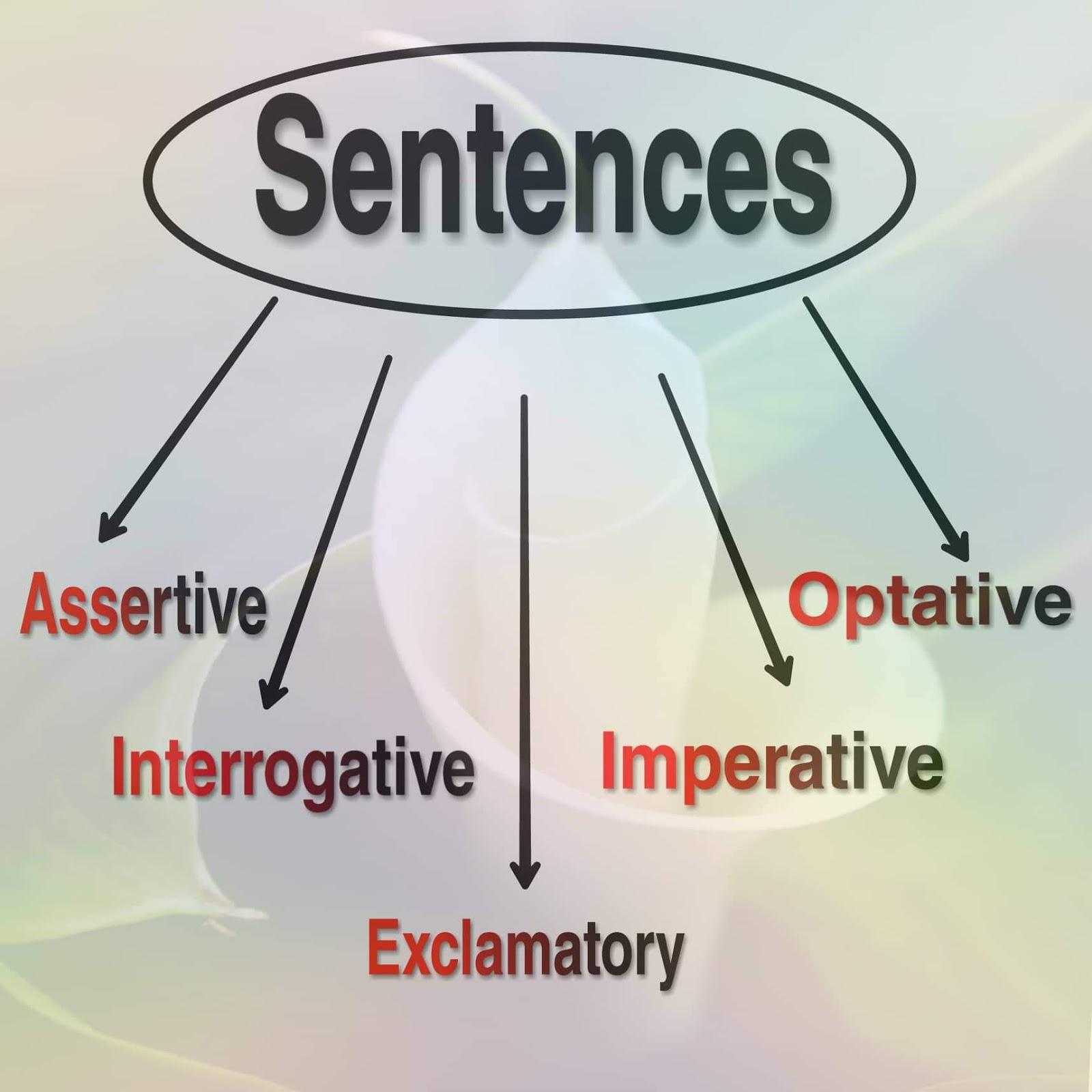 Sentence Amp Its Types