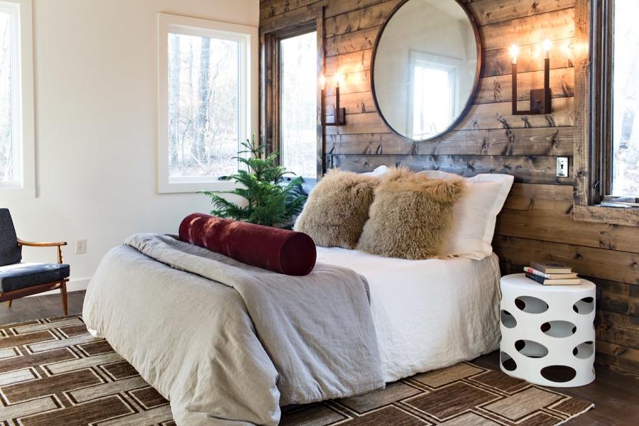 Drewno w roli głównej, wystrój wnętrz, wnętrza, urządzanie mieszkania, dom, home decor, dekoracje, aranżacje, styl nowoczesny, modern style, otwarta przestrzeń, drewno