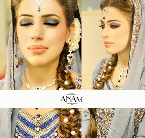 Wedding Hairstyles 8 Luxe Looks Suited To Every Bridal: Pakistani Bridal Makeup Pictures 2014