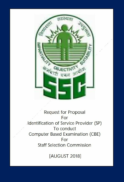 SSC Request for Proposal for Identification of Service Provider for CBE