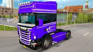Purple Skin Scania RJL