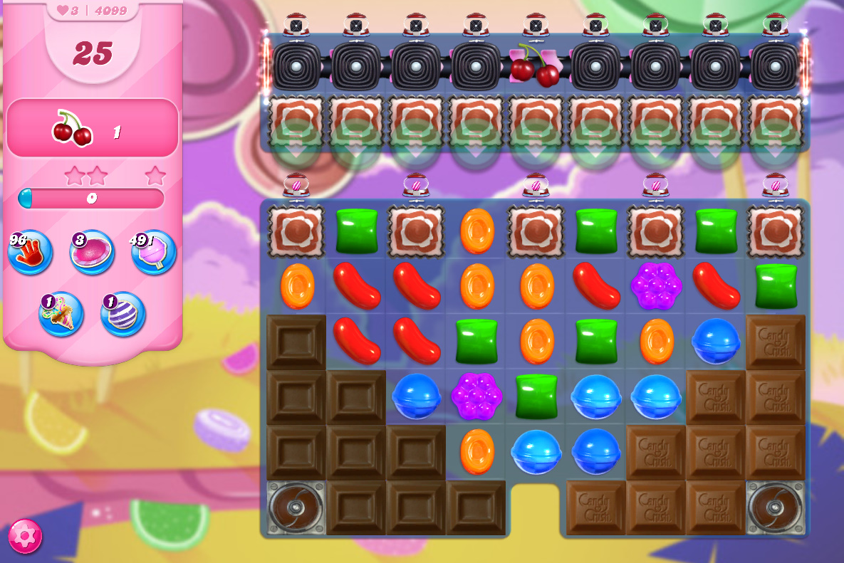 Candy Crush Saga level 4099