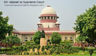 GK related to Supreme Court