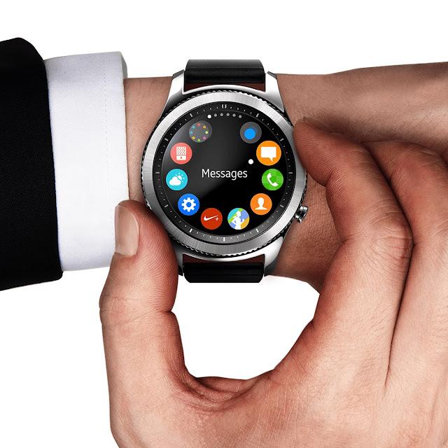 تحديث جديد لـ ساعة سامسونج جير 3 لإطالة عمر البطارية