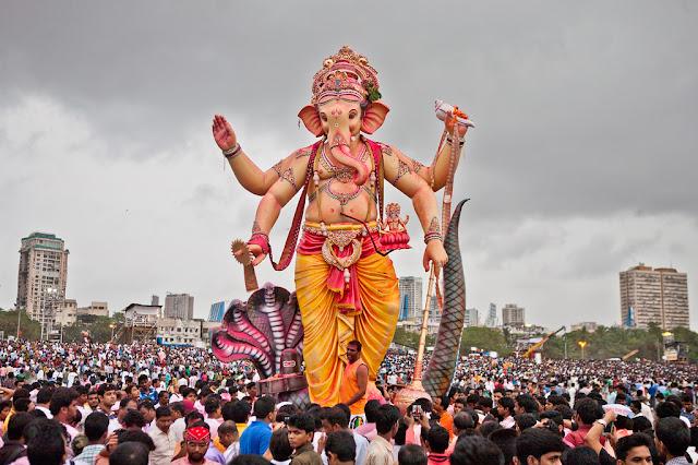 Ganesh Chaturthi 2017 Visarjan in mumbai