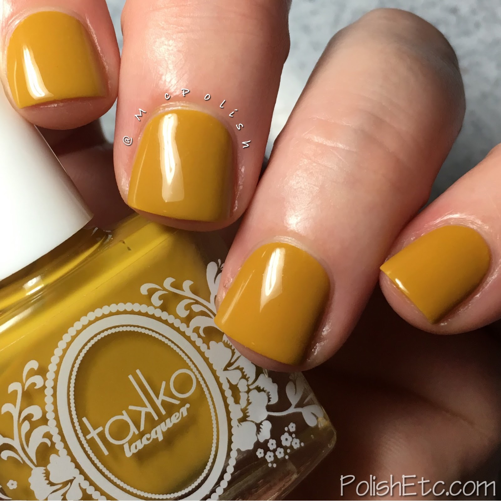 Takko Lacquer - Marigold - McPolish