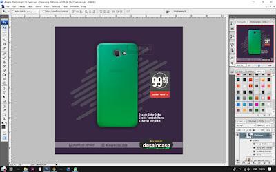 Cara Desain Custom Case Samsung J5 Prime