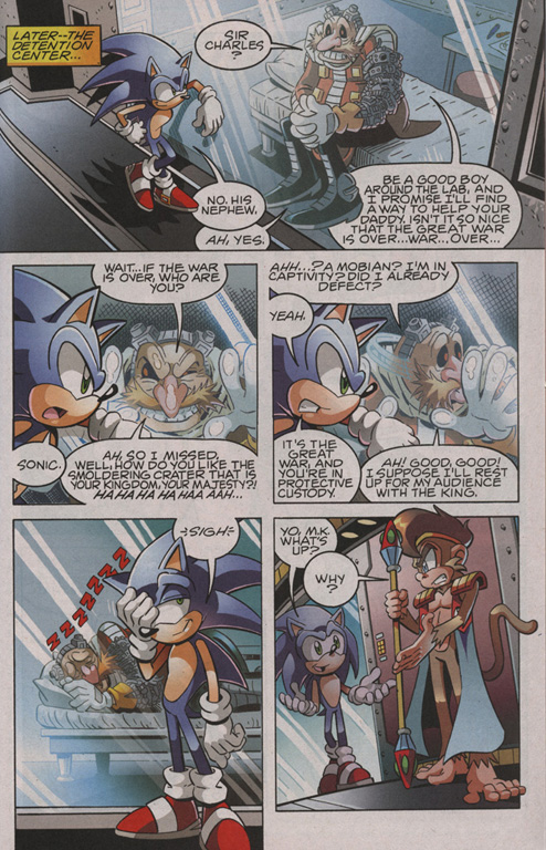 Read online Sonic The Hedgehog comic -  Issue #206 - 16
