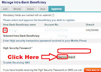 how to add beneficiary in sbi online