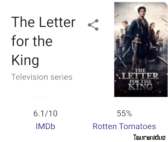 Download The Letter For The King 2020 In Dual Audio