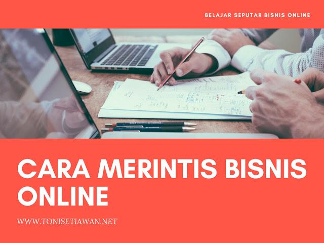 Cara Merintis Bisnis Online