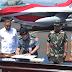 Menhan Serahkan 24  Pesawat Tempur Super Canggih F-16 Di lanud Iswahyudi