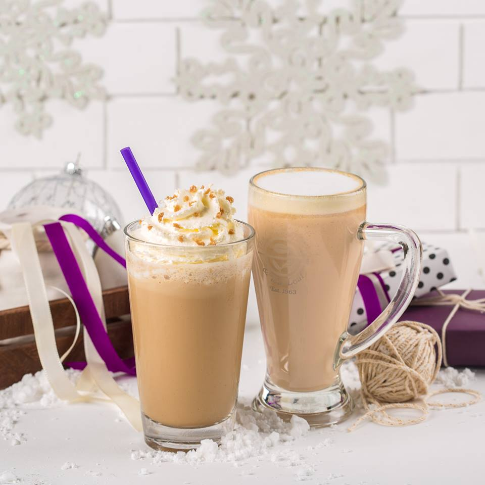 The Coffee Bean And Tea Leaf Philippines Recently Included Toffee Nut Latte Iced Blended In Their Line Up Of Christmas Drinks Replacing Very